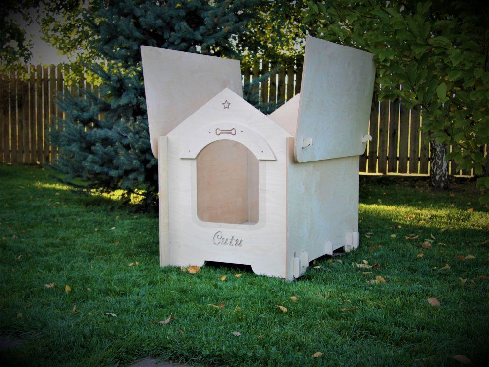 Small-medium sized dog kennel